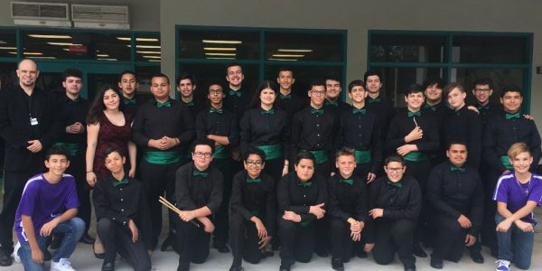 Pacer Jazz Band at Solos and Ensemble Festival